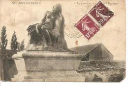 """NOGENT SUR SEINE. """" LA DOULEUR"""". ALFRED BOUCHER. - Nogent-sur-Seine"""