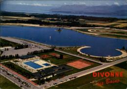 01 - DIVONNE-LES-BAINS - Vue Aérienne - Terrains De Tennis - Divonne Les Bains