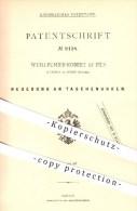 Original Patent - Wuilleumier-Robert Et Fils In Chaux De Fonds , Schweiz , 1879 , Taschenuhr , Uhr , Uhren , Uhrmacher ! - Documents Historiques