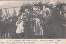 Tamines    Manifestation Patriotique De 25/05/1919  Sambreville Priester    Nr 4109 - Sambreville