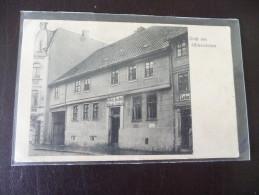 1 X Alte AK Gruß Aus Oschersleben Keffels Gasthof Wilhelm Zenker 1908  Sammlungsauflösung - Oschersleben