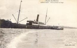 Ports Du Maroc - Lot De 2 Cartes - Rabat Salé - Débarquement Au Large - Barcasses Servant Au Débarquement - Rabat