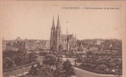 Cp , 67 , STRASBOURG , Église Protestante De La Garnison - Strasbourg