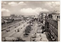 CIVITAVECCHIA - LUNGOMARE E GIARDINI - ROMA - 1953 - TRENI - FERROVIA - Civitavecchia