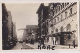 ETATS UNIS D'amérique,united States,USA,OREGON,BROADWAY,PORTLAND,1910,CARTE OLD,CENTRE VILLE,CITY,CARTE PHOTO - Portland