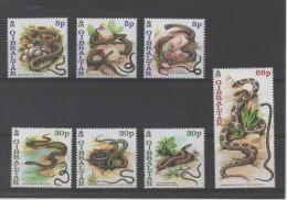 GIBRALTAR  Timbres Neufs ** De 2001  ( Ref 1251  ) Animaux -  Serpents / Snakes - - Gibraltar