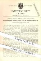 Original Patent - J. Streuli & Co. , Horgen , Zürich , Schweiz , 1880, Malerfarbe , Wasserfarbe , Lack , Ölfarbe , Maler - Documents Historiques