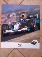 Auto E Moto - Da Calen. Magneti Marelli -cm.55x50- Sauber F1-C22 - Retro- DUCATI 5BK-999R  F03. - Sports