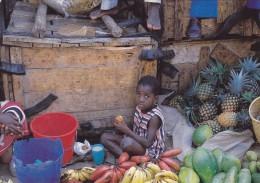 CPSM BURUNDI @ Marché Aux Fruits De BUJUMBURA En 1987 @ Photographe J.P Bastière - Burundi