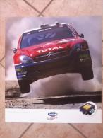 Auto E Moto - Da Calen. Magneti Marelli -cm.55x50- ALFA ROMEO ETCC-156 GTA - Citroen - WRC- Xsara. - Sport