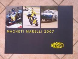 Auto E Moto - Da Calen. Magneti Marelli -cm.42x60- Magneti Marelli 2007 -retro- Prodotti M. Marelli. - Sports
