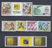 Nelle-CALEDONIE -  1998-99 - PETIT LOT DE 8 TIMBRES - XX - MNH - TB - - Lots & Serien