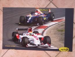 Auto E Moto - Da Calen. Magneti Marelli -cm.36x60- BMW Sauber F1.06 Retro- ART Grand Prix-GP2 Formula. - Sport