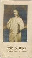 """IMAGE PIEUSE HOLY Card Santini  : """" Voilà Ce Coeur Qui A Tant Aimé """" Soeur Marie Agnès De Jésus Retraite Pentecôte 1917 - Images Religieuses"""