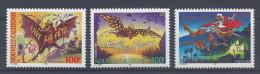 """Nelle-CALEDONIE -  2001 -  """" TIMBRES DE SOUHAITS """" N° 860 à 862 - XX - MNH - TTB - - Nueva Caledonia"""