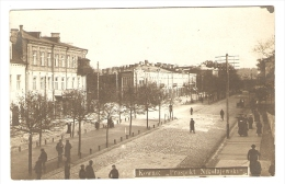 Kaunas. Kowno. Kovno Nikolajevskiy Avenue. Photo Postcard. - Lithuania