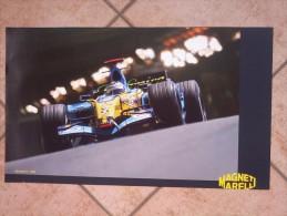 Auto E Moto - Da Calen. Magneti Marelli -cm.36x60- Renault F1 - R26 -retro -Kawasaki M.GP- Ninja ZX-RR. - Sports
