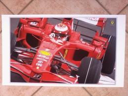 Auto E Moto - Da Calen. Magneti Marelli -cm.35x60-  FERRARI   F2008- Retro-AIGP World Cup Of Motorsport. - Sports