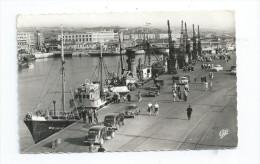 CPA 62 CPSM Boulogne Sur Mer Les Quais Et La Ville Citroen Traction - Boulogne Sur Mer