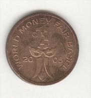 Jeton - World Money Fair - Basel 2005 - Mennica Panstwowa - Professionnels / De Société