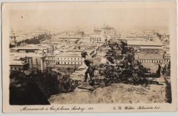 RPPC, MONUMENTO  A CAUPOLICAN ,SANTIAGO,CHILE,c1928 - Chile