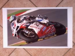 Auto E Moto - Da Calen. Magneti Marelli -cm.35x60- DUCATI  WSBK  1098R F08.-Kawasaki M.GP. Ninja ZX-RR. - Sport