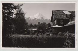 RPPC, HOTEL ENSENADA,VOLCANO OSORNO,CHILE,c 1928/29 - Chile
