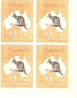 FALSCH FALKST  AUSTRALIA AUSTRALIE YVERT NR. 7 AÑOS 1912-1919 NON DENTELE SANS FILIGRANE SIN FILIGRANA MNH MINT NOT HIN