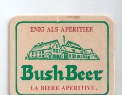 Sous-Bock Bush Beer La Bière Apéritive - Beer Mats