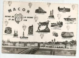 CPM 71 - Saône Et Loire - Macon - Reine De La Saone Et Du Vin - Macon