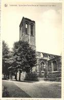 BELGIQUE - HAINAUT - LESSINES - Eglise St-Pierre (Ruines De L'incendie Du 11 Mai 1940). - Lessen
