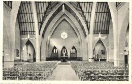 BELGIQUE - HAINAUT - MOUCRON - HERSEAUX - Eglise Du Christ-Roi, Vue Intérieure. - Mouscron - Moeskroen