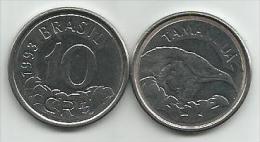 Brazil 10 Cruzeiros Reais 1993. UNC - Brésil