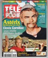 ASTERIX AUX J.O - PRESSE - MAGAZINE TELE POCHE N° 2190 FEVRIER 2007 - COUVERTURE + 6 PAGES - Astérix