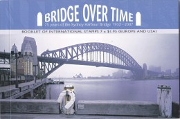 Australia 2007 Sydney Harbour Bridge Over Time Prestige Booklet - Markenheftchen