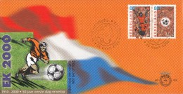 E415 - EK Voetbal 2000(2000) - NVPH 1888-1889 - FDC