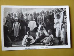 TRIPOLI SUONATORE AMBULANTE ARABO    MUSICIEN ARABEL TROUBADOURS - Libyen