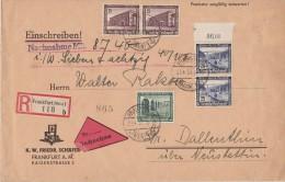 ALLEMAGNE 1937 LR DE FRANKFURT - Germany