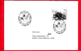 ITALIA - 2015 - Busta Viaggiata - Vastophil - Annullo - Guerra Mondiale - In Cielo - 0,80 € • Francesco Baracca - 1946-.. République