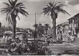 VIAREGGIO - LUCCA -VIALE MANIN E GIARDINI - VIAGGIATA 1958 - ANIMATA - Lucca