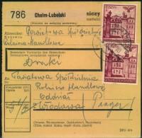1941, Postanweisung Ab CHELM-LUBELSKI Nach Wlodawa - Besetzungen 1938-45