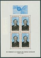 Mauretanien 1967 Adenauer Block 4 Postfrisch (G20411) - Mauritanië (1960-...)