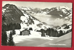 FXD-18  Kübelhütte Ob Saanenmöser. GElaufen In 1959. S.A.C. Kübeli-Alp - BE Bern