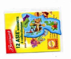 Magnet Biscuit Brossard Asie Tigre - Animaux & Faune