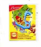 Magnet Biscuit Brossard Asie Lion Inde - Animaux & Faune