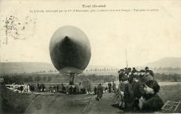 France Toul Aviation Dirigeable Lebaudy Ancienne Carte Postale CPA 1905 - ....-1914: Précurseurs
