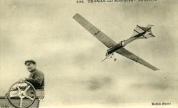 France Rene Thomas Sur Monoplan Antoinette Pionnier De L Aviation Ancienne Carte Postale CPA 1905