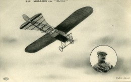 France Mollien Sur Bleriot Pionnier De L Aviation Ancienne Carte Postale CPA 1905