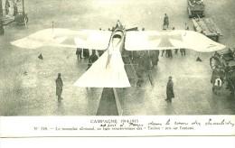 France Paris Taube Allemand Pionnier De L Aviation Ancienne Carte Postale CPA 1915 - ....-1914: Précurseurs