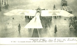 France Paris Taube Allemand Pionnier De L Aviation Ancienne Carte Postale CPA 1915